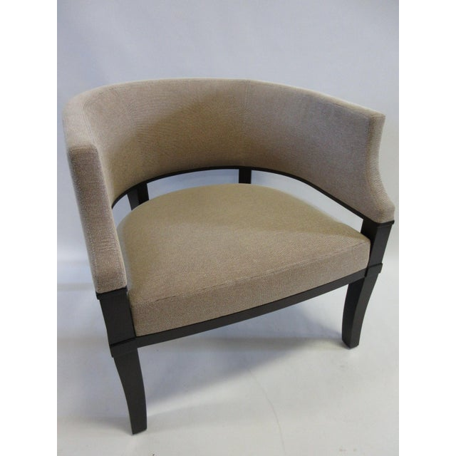 Contemporary Christian Liaigre for Holly Hunt Club Chairs - a Pair For Sale - Image 3 of 13