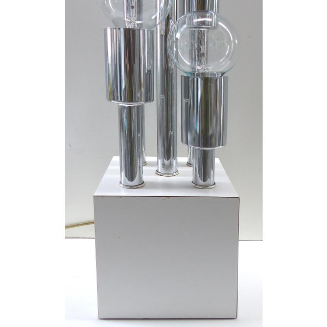 Mid-Century Modern Mid-Century Modern Chrome Table Lamp For Sale - Image 3 of 6