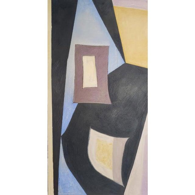"Artist: Robert Diesso Title: Vase Flowers & Mandolin Oil and oil bar on canvas Dimensions: 54""h x 80""w x 2 1/4""d..."