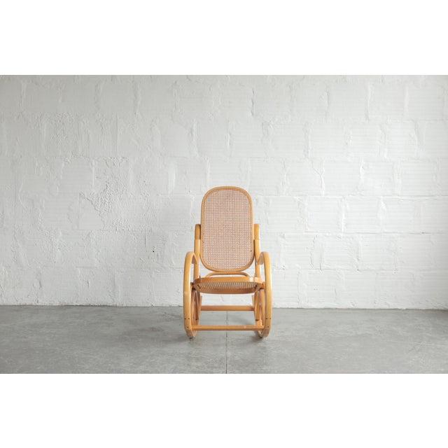 Vintage bentwood rocking chair