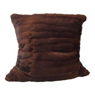 Mink Fur Pillow For Sale