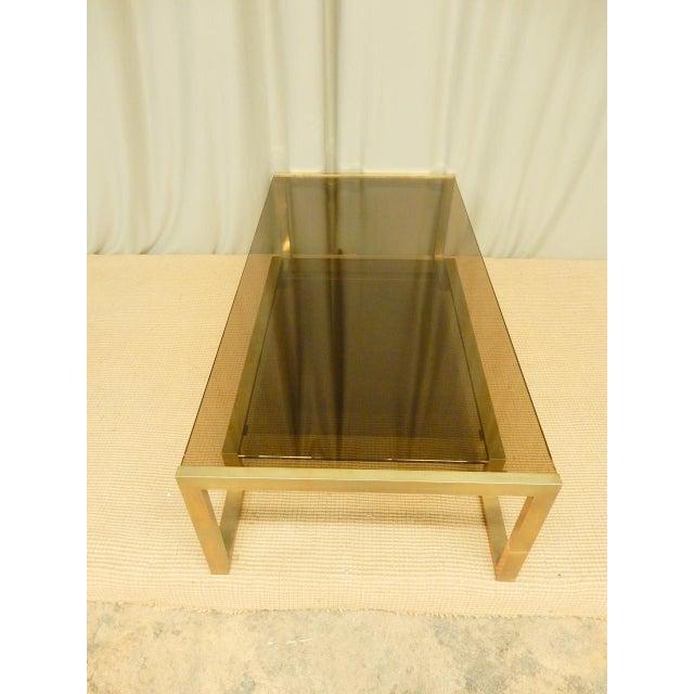 Guy Lefevre Guy Lefevre' Mid-Century Coffee Table For Sale - Image 4 of 7