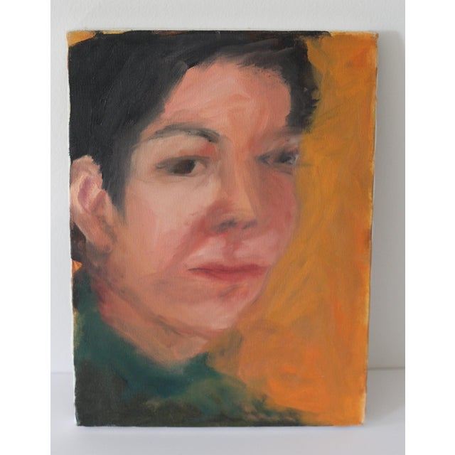Portrait of a Woman Painting by Janet Mamon - Image 7 of 7