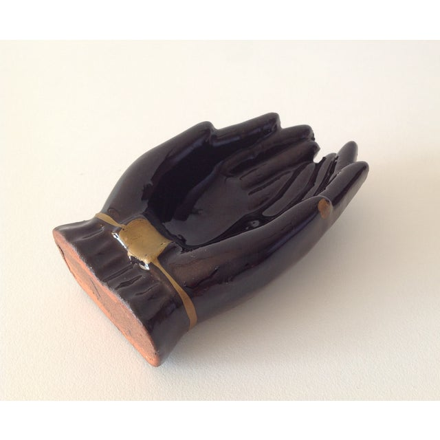 Vintage Individual Hands-Shaped Portable Ashtray - Image 2 of 8