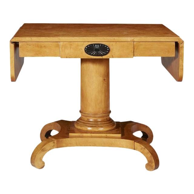 Wondrous 19Th Century Biedermeier Golden Birch Console Table Squirreltailoven Fun Painted Chair Ideas Images Squirreltailovenorg