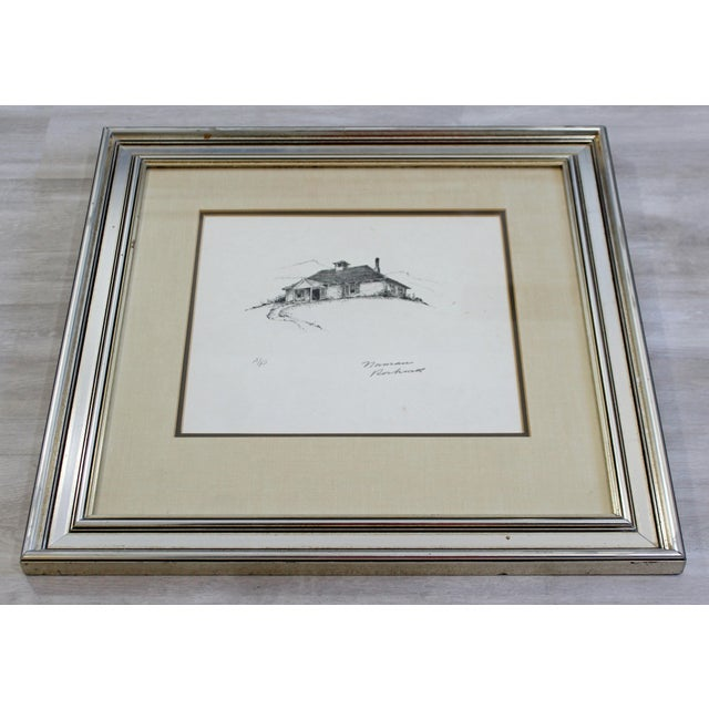 """For your consideration is a framed, A.P. Lithograph of Norman Rockwell's 1947 modern illustration """"The Schoolhouse..."""