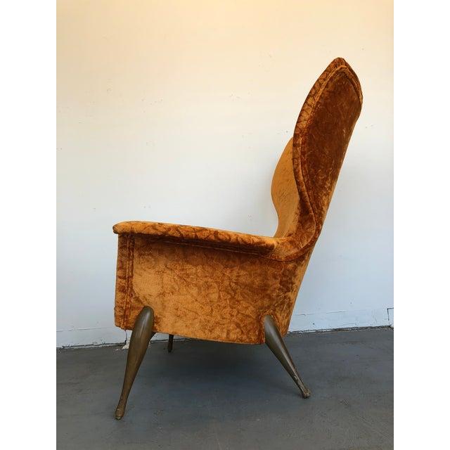 Ben Seibel 1970s Vintage Ben Seibel Wingback Lounge Chair For Sale - Image 4 of 9