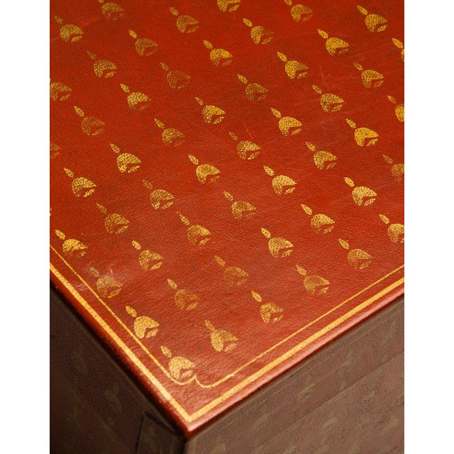 Meticulously handcrafted, our decorative boxes are bound with full hide water buffalo leather, which is known for its...