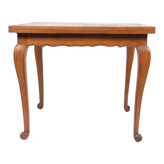 Louis Philippe-Style Square Parque Extendable Table For Sale