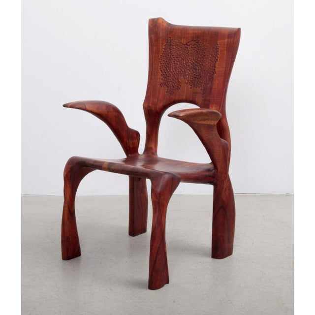One of a Kind Studio Charles B. Cobb Armchair, US, 1977 For Sale - Image 11 of 11