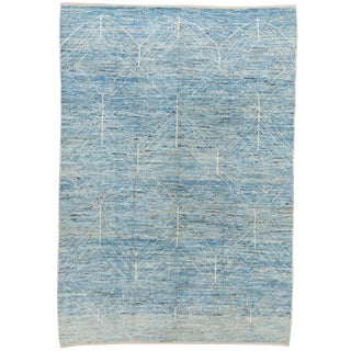 "21st Century Modern Moroccan-Style Rug, 7'0"" X 10'0"" For Sale"