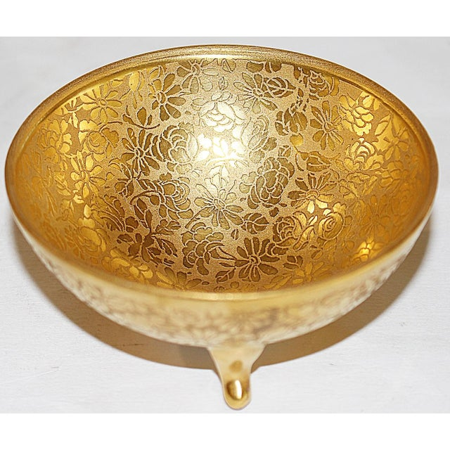 Gold All-Over-Gold Serving Set - 7 Pieces For Sale - Image 8 of 9