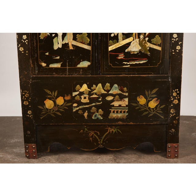 Rare Pair of 18th Century Chinese Cabinets For Sale - Image 11 of 11