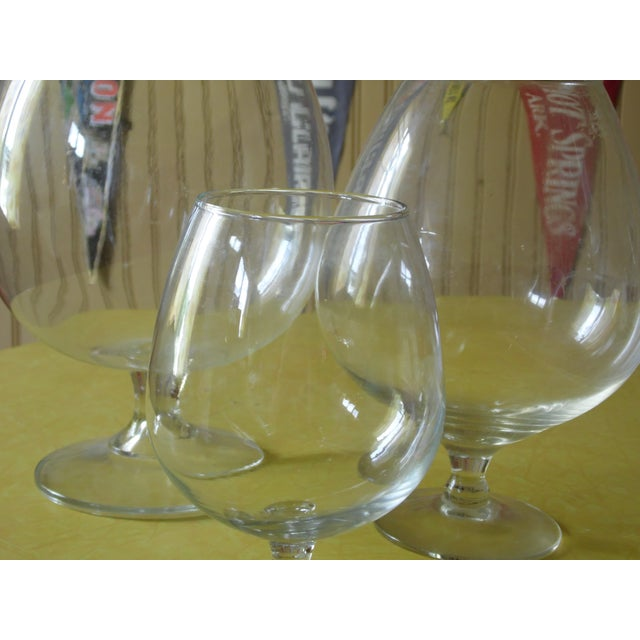 Pedestal Glass Vases - Set of 3 - Image 4 of 5