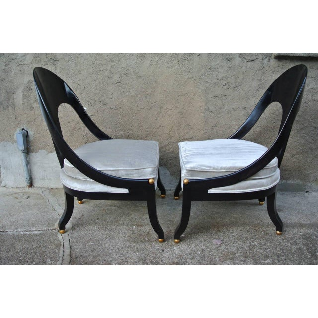 Pr. Neoclassic Chairs by Michael Taylor for Baker For Sale - Image 10 of 10