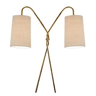 Antique Florentine Twist Gold Leaf Wall Light For Sale