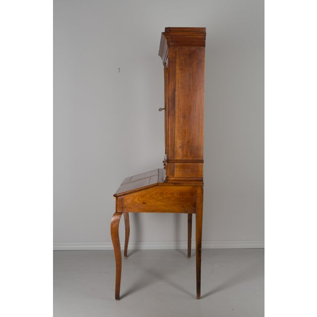 Late 19th Century Antique French Country Style Slant Top Desk For Sale In Orlando - Image 6 of 11