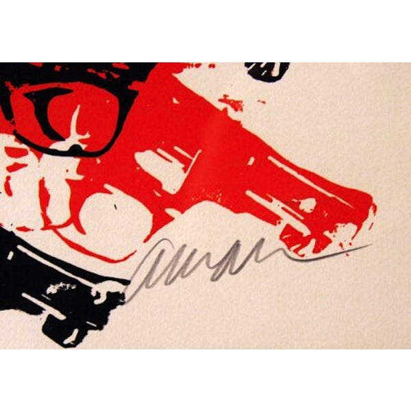 "Arman, ""Bloody Guns,"" Serigraph - Image 2 of 2"