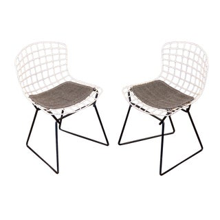 Baby Bertoia Chairs - a pair For Sale