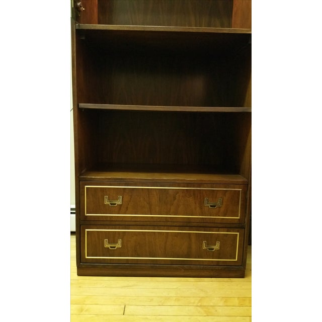 Thomasville Campaign Style Display Cabinet - Image 9 of 12
