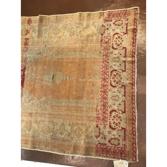 Antique Turkish wool rug in the style of sivas