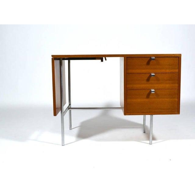 George Nelson Model 4754 Drop Leaf Desk by Herman Miller For Sale - Image 9 of 10
