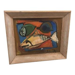 Intricate Fish Painting