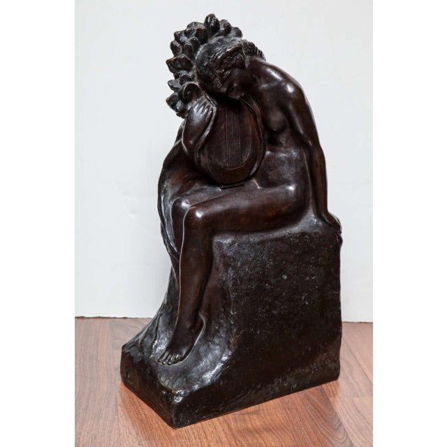 Art Deco Bronze by Amedeo Gennarelli For Sale - Image 9 of 9