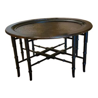 Chinoiserie Ethan Allen Coffee Table For Sale