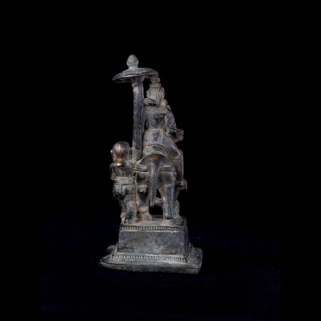 Bronze Equestrian Sculpture For Sale - Image 4 of 5