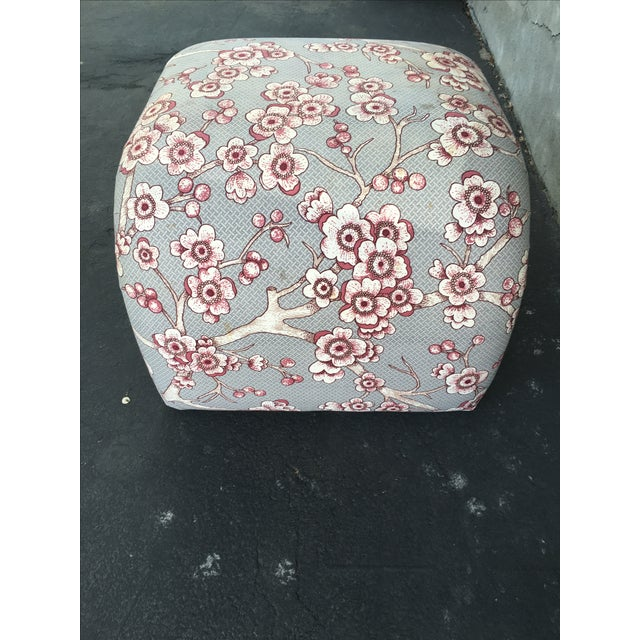 Vintage Waterfall Ottoman - Image 5 of 6