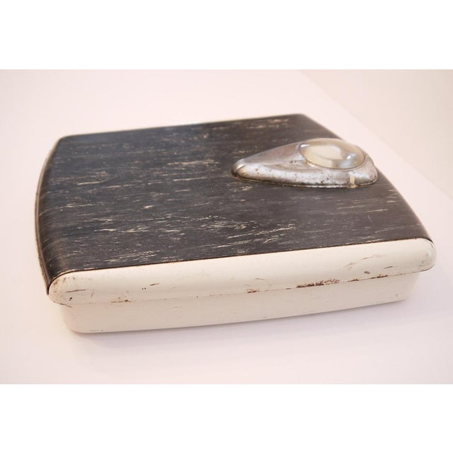 1950s Vintage Borg Bathroom Scale For Sale - Image 4 of 6