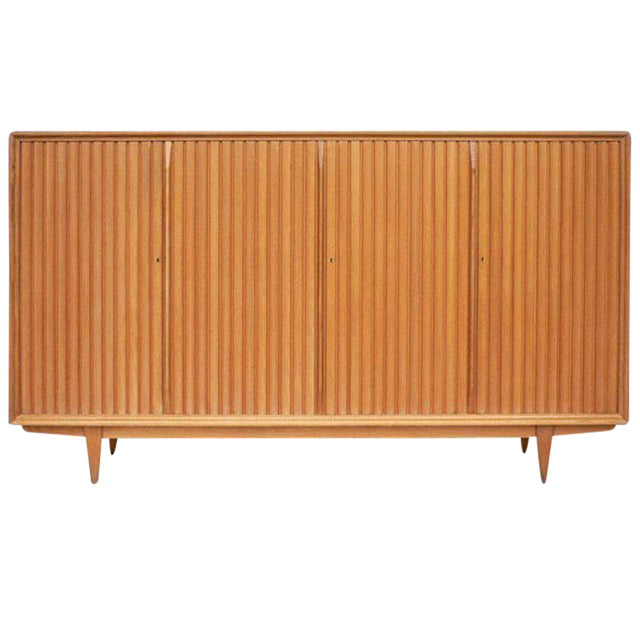 Large Mid-Century Italian Cabinet For Sale