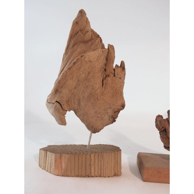 Metal Collection of Abstract Driftwood Sculptures, Gloucester, Ma, Circa 1960s-1970s - Set of 9 For Sale - Image 7 of 13