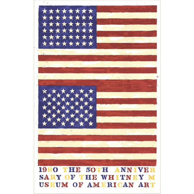 The 50th Anniversary of the Whitney Museum of American Art (Double Flag) - Image 2 of 3