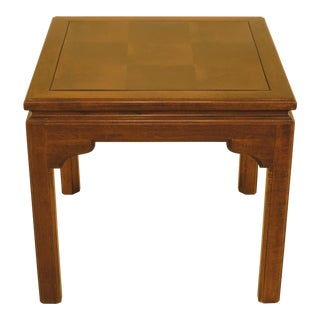 Ethan Allen Square Maple Occasional End Table