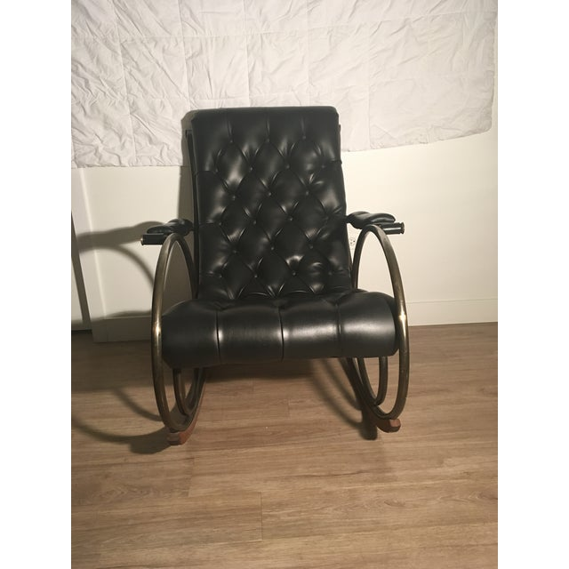 Lee L. Woodard Rocking Chair For Sale In Chicago - Image 6 of 11