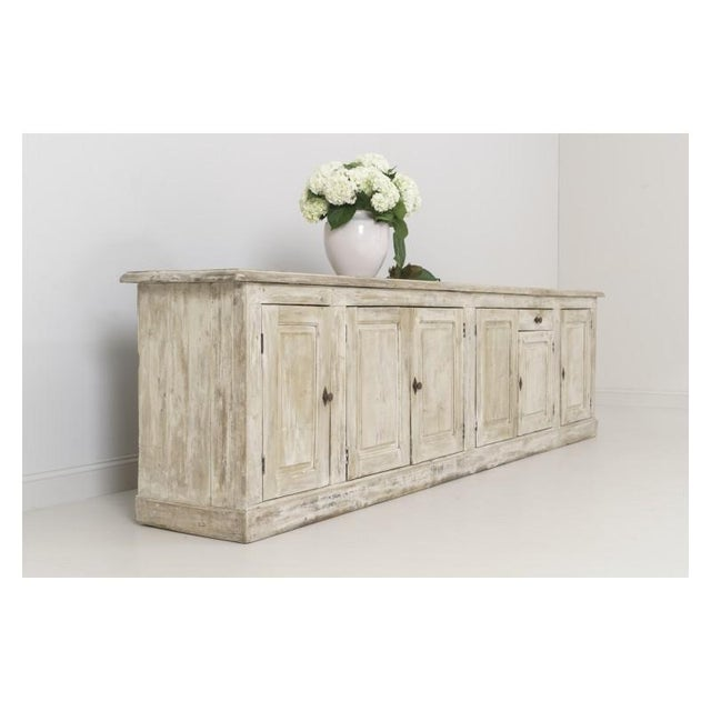 Mid 19th Century 19th Century French Provençal Louis Philippe Style Enfilade in Original Patina For Sale - Image 5 of 10