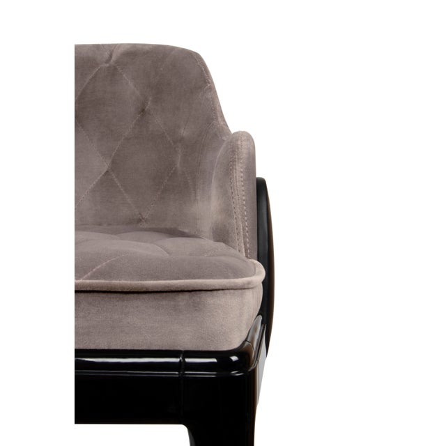 Not Yet Made - Made To Order Covet Paris Charla Bar Chair For Sale - Image 5 of 9