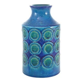 Bitossi Mid-Century Blue Vase
