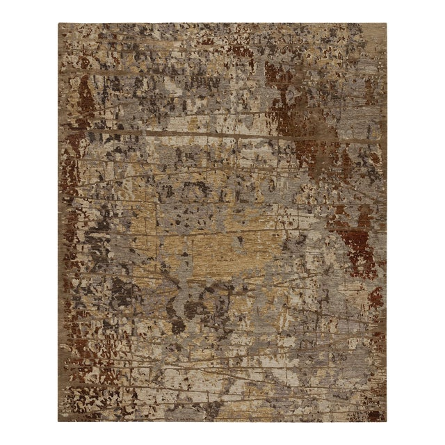 Earth Elements Ivory Rust Rug - Image 1 of 3