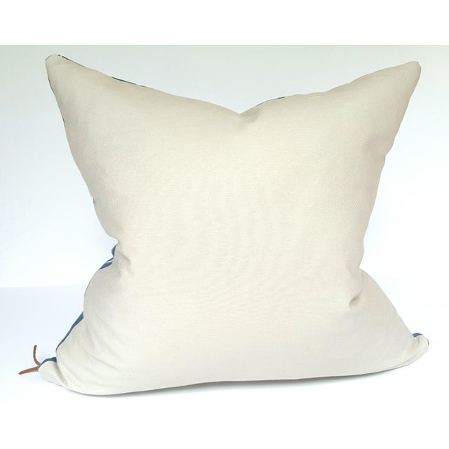 Vintage African Indigo Mudcloth Pillow - Image 4 of 4