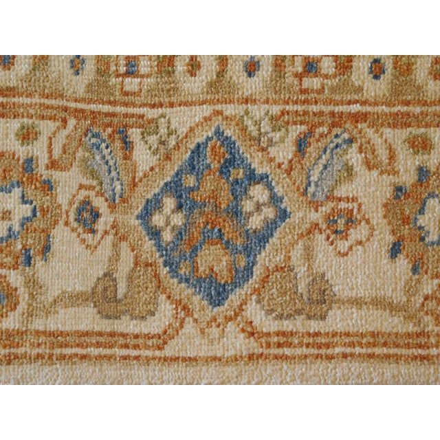 Hand Knotted Chinese Ziegler Rug - 4′ × 6′ For Sale - Image 9 of 10