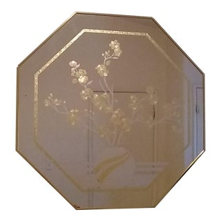 Windsor Floral Octagonal Mirror