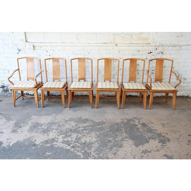 Baker Furniture Chinoiserie Ming Dining Chairs - Set of 6 For Sale - Image 14 of 15