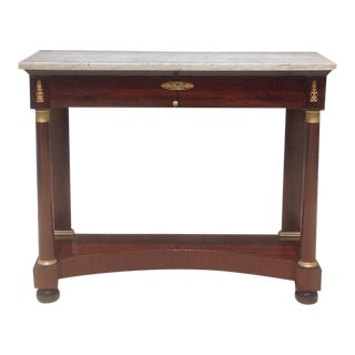 19th C. French Pier Table For Sale