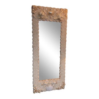 Full-Length Shell Mirror For Sale