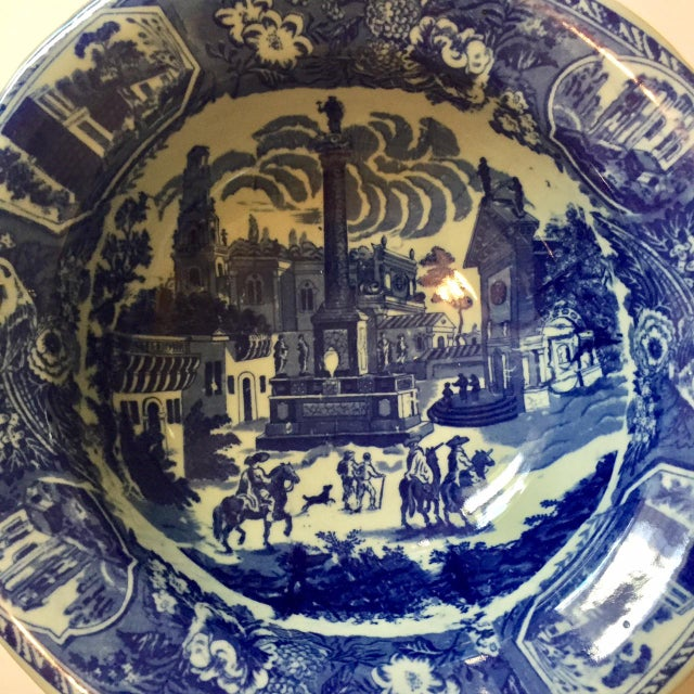 Victoria Ware Blue Town Ironstone Bowl - Image 3 of 6
