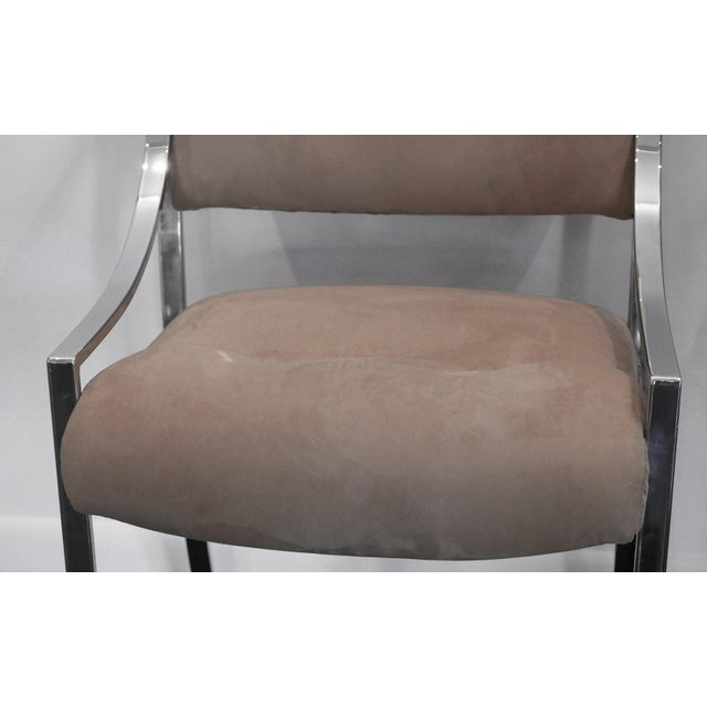 Mid-Century Modern 4 Milo Baughman Dining Chairs for Dillingham For Sale - Image 3 of 7