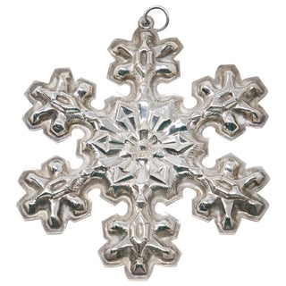 1976 Gorham Sterling Snowflake For Sale
